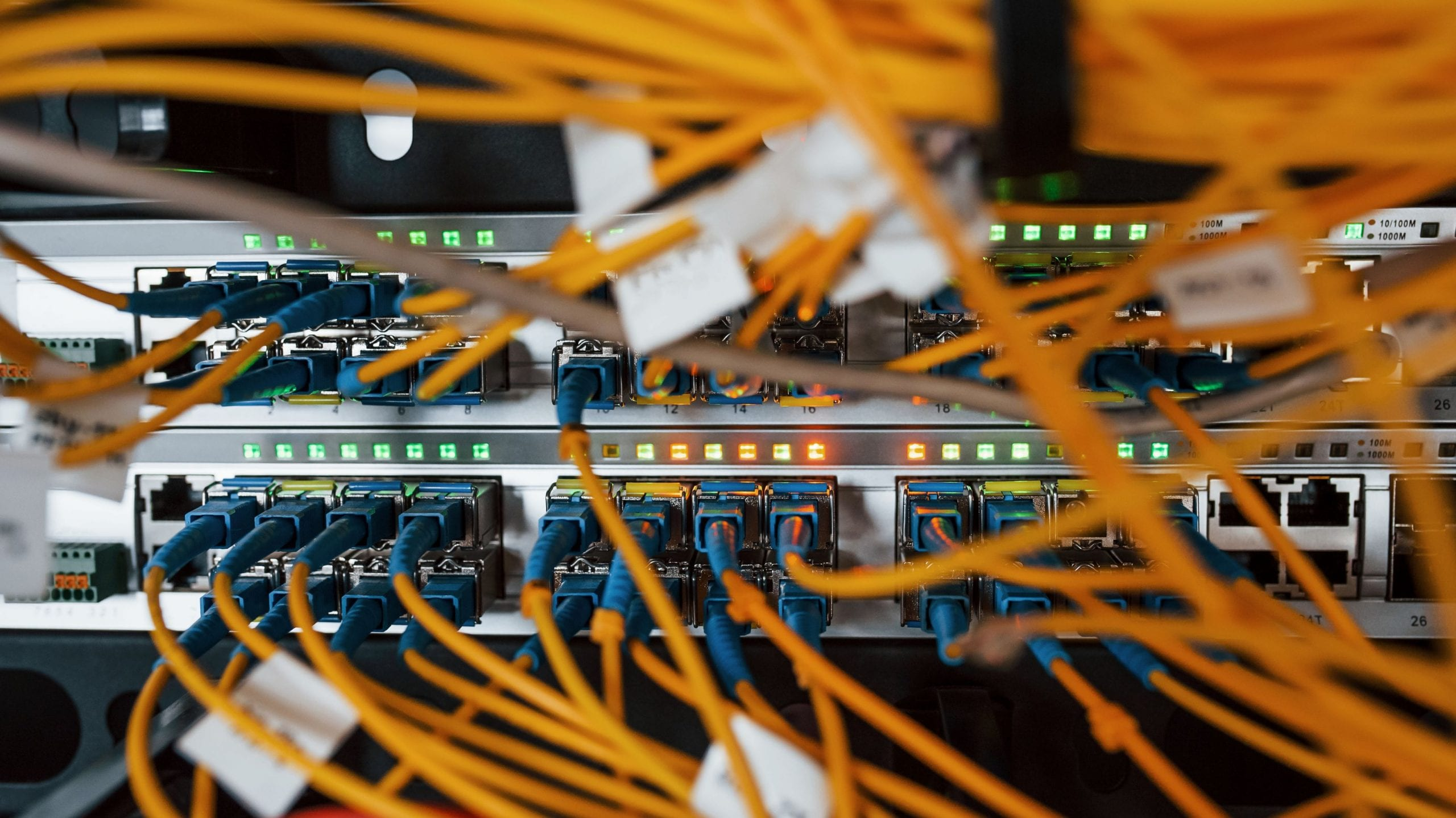 cloud based server, structured cabling